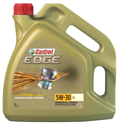 масло Castrol EDGE LL 5W-30 Синтетическое 4 л