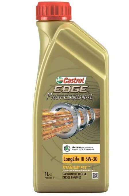 масло Castrol Edge Professional LL III 5W-30 Skoda 1 л