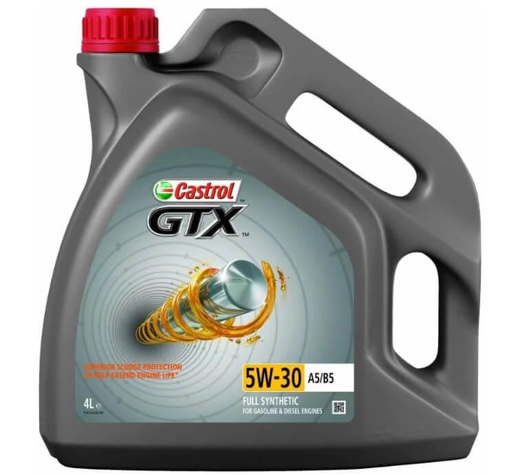 масло Castrol GTX 5W-30 A5/B5 4 л