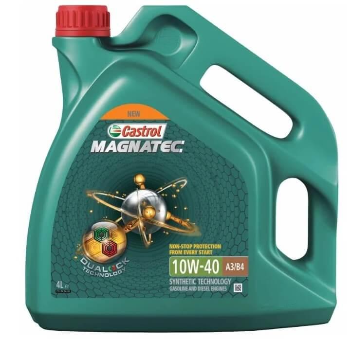 масло Castrol Magnatec 10W-40 DUALOCK 4 л