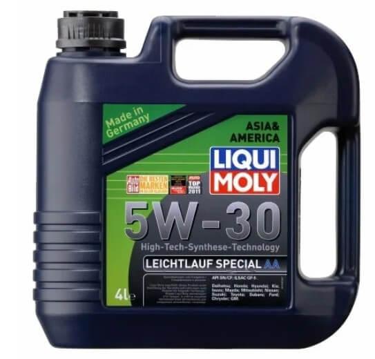 масло LIQUI MOLY Leichtlauf Special AA 5W-30 4 л