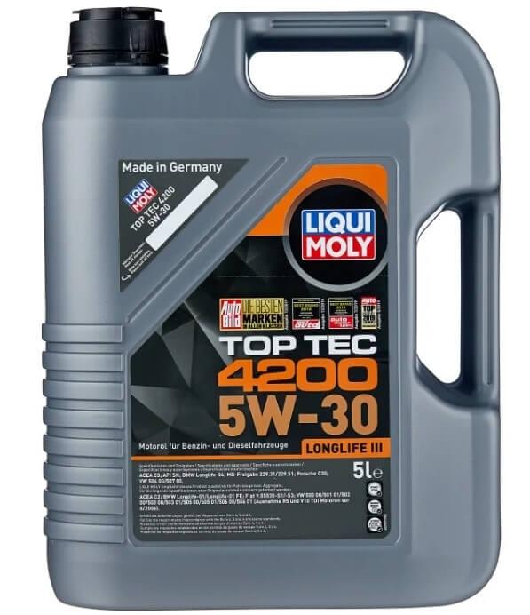 масло LIQUI MOLY Top Tec 4200 5W-30 5 л