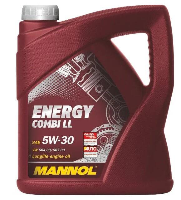 масло Mannol Energy Combi LL 5W-30 4 л