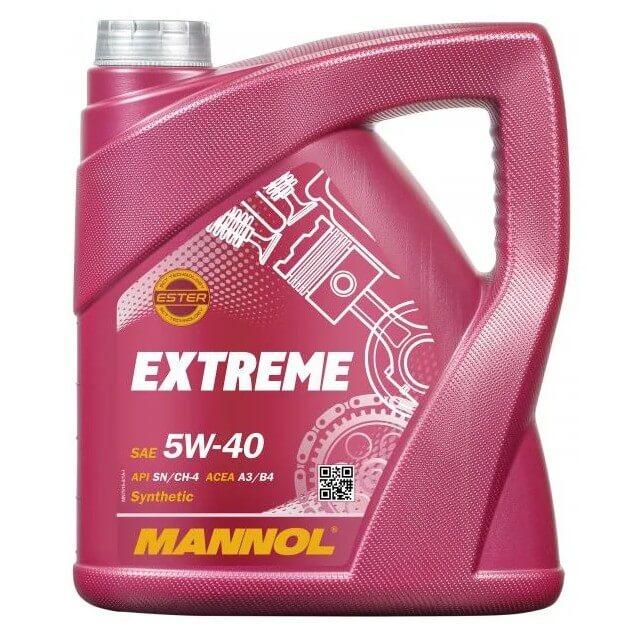 масло Mannol Extreme 5W-40 4 л