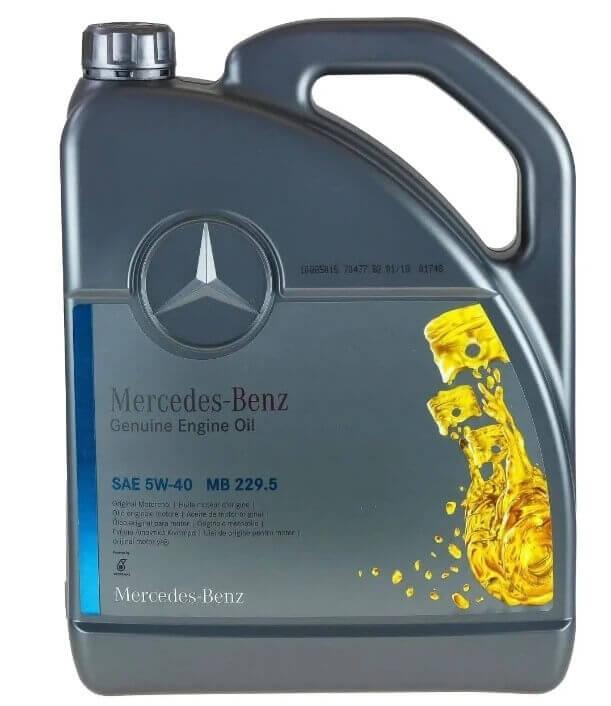 масло Mercedes-Benz MB 229.5 5W-40 5 л