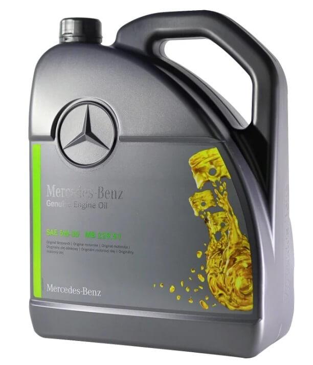 масло Mercedes-Benz MB 229.51 5W-30 5 л