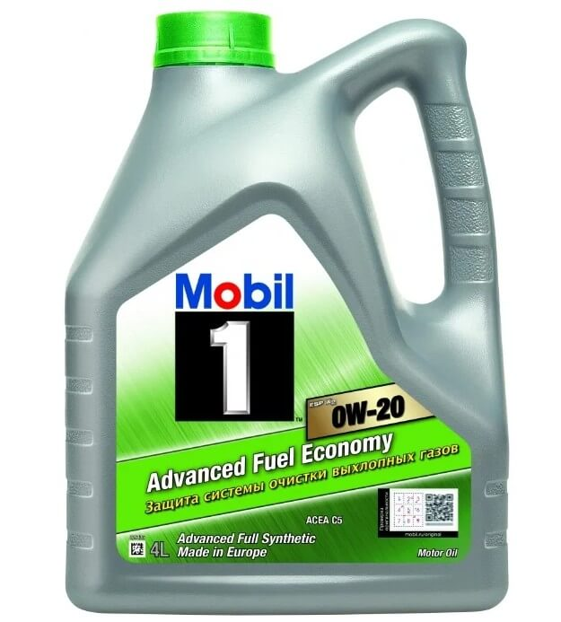 масло MOBIL 1 ESP X2 0W-20 4 л