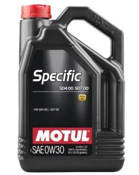 масло Motul Specific 504 00 507 00 0W-30 5 л