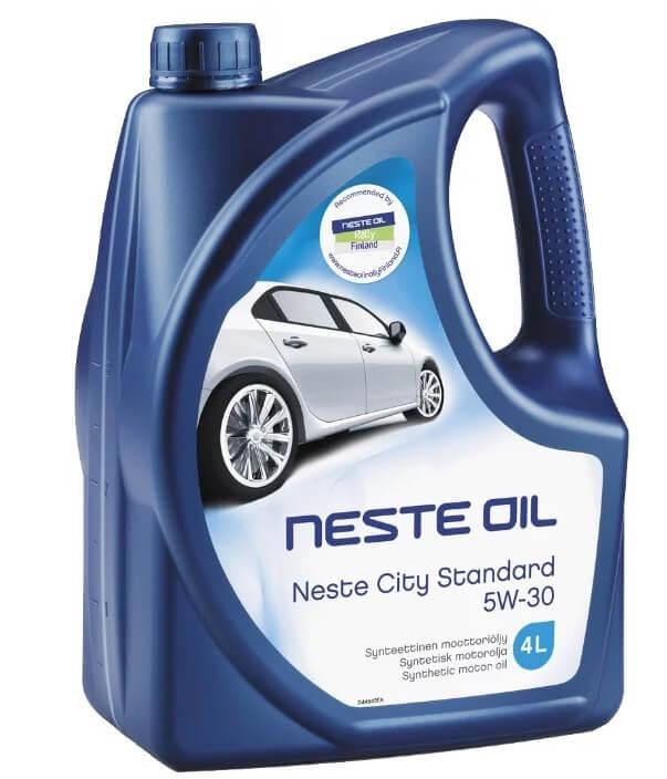 масло Neste City Standard 5W-30 4 л