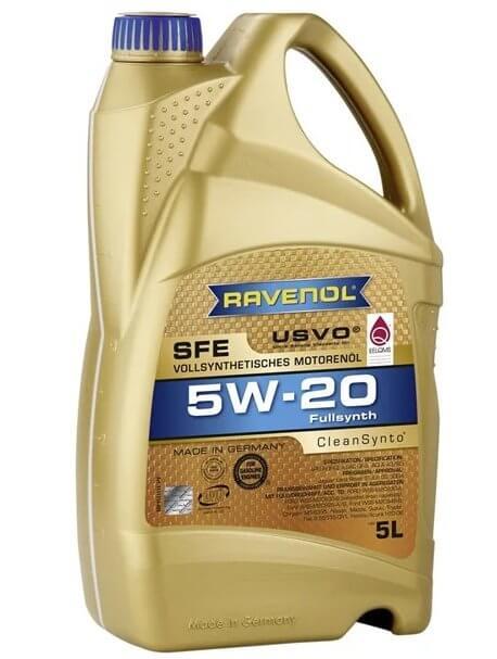 масло Ravenol Super Fuel Economy SFE SAE 5W-20 5 л