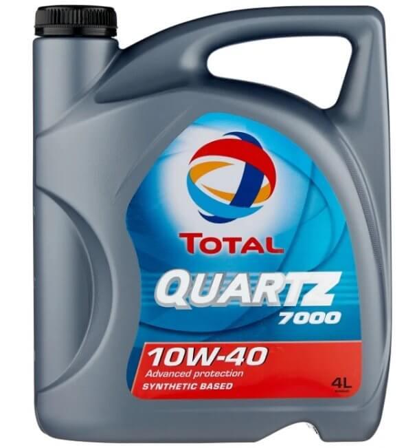масло TOTAL Quartz 7000 10W40 4 л