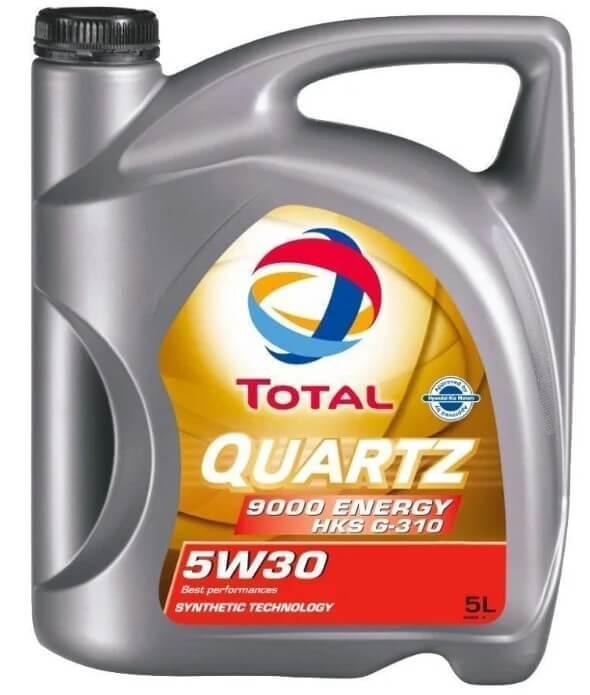 масло TOTAL Quartz 9000 Energy HKS G-310 5W30 5 л