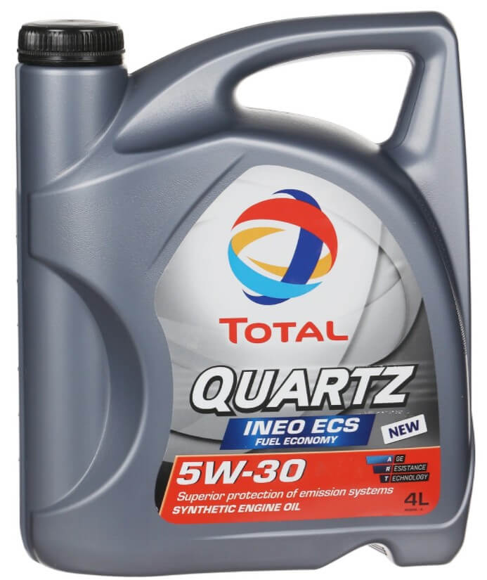 масло Total Quartz Ineo ECS 5w-30, 4 л