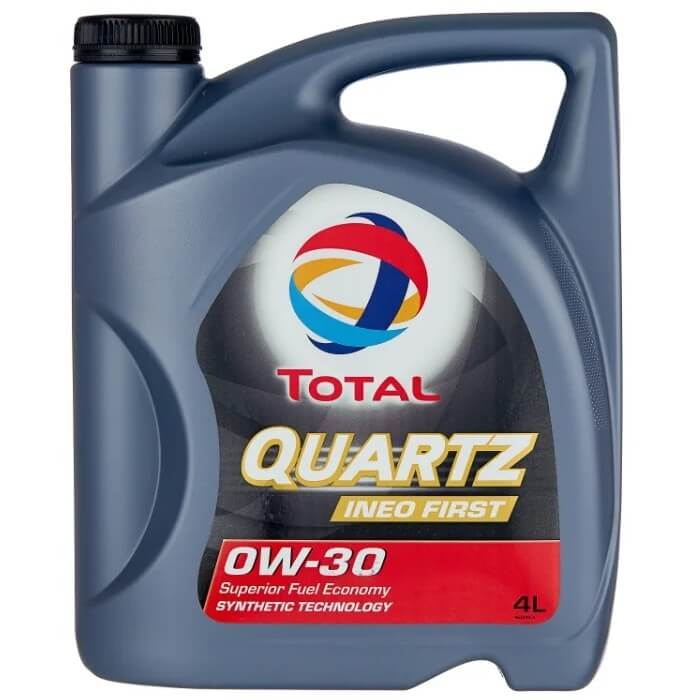 масло TOTAL Quartz INEO First 0W30 4 л