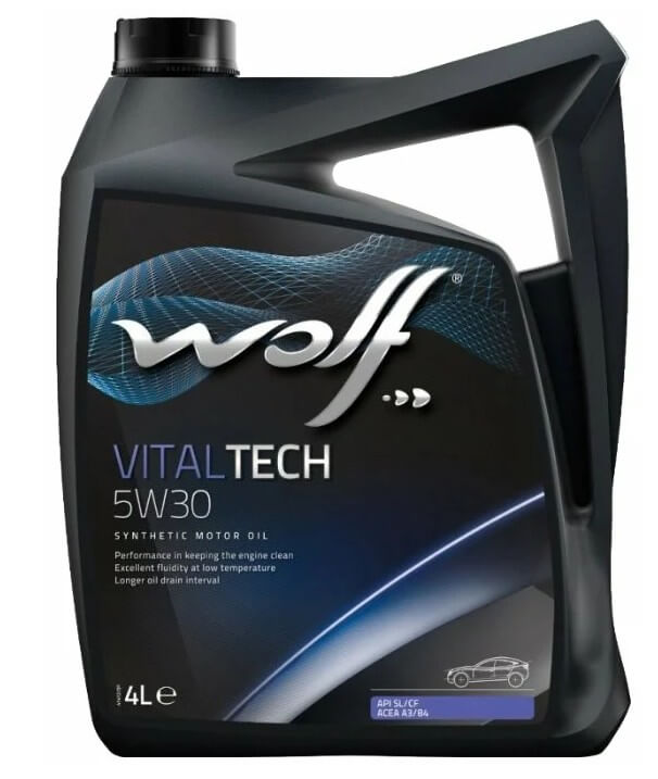 масло Wolf Vitaltech 5W30 4 л