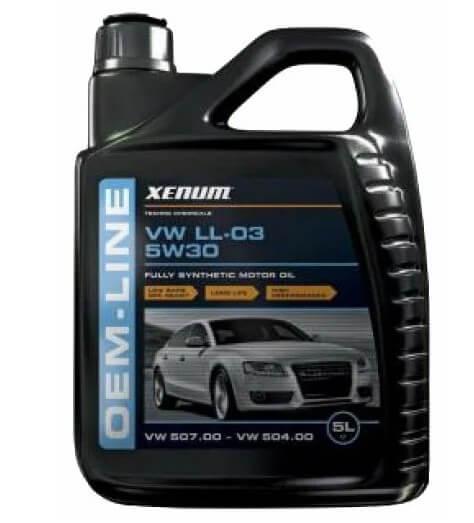 масло XENUM OEM-Line VW LL-03 5W30 5 л