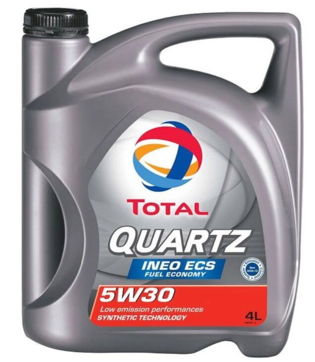 моторное масло Total QUARTZ INEO ECS 5W30, 4 л