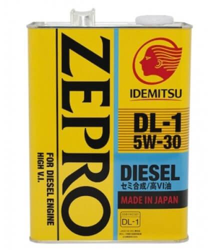 Масло IDEMITSU ZEPRO DIESEL 5W30 DL-1 ACEA C2-08, 4 л