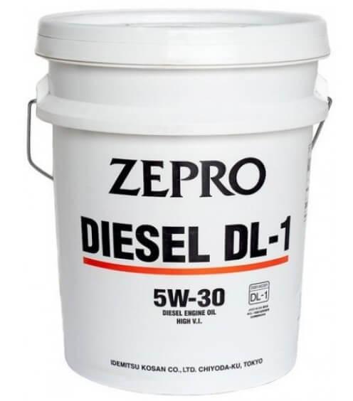 масло IDEMITSU ZEPRO DIESEL 5W-30 DL-1, 20 л