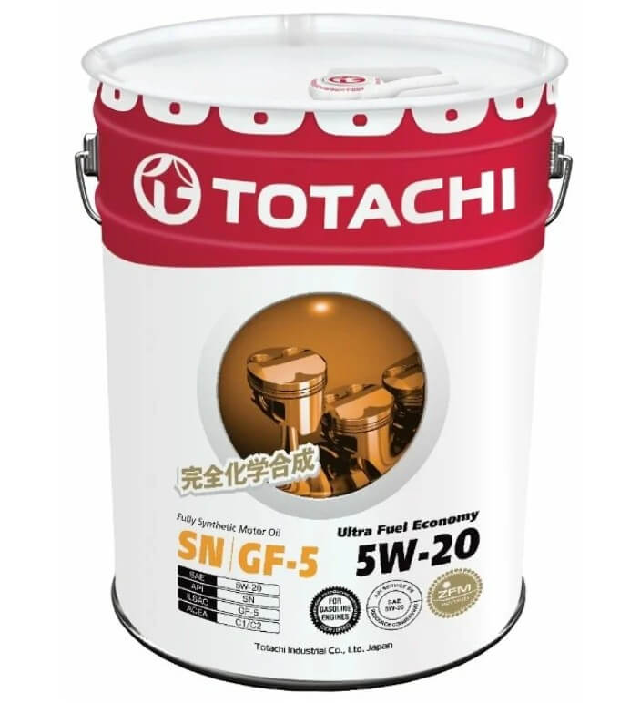 масло TOTACHI Ultra Fuel Economy 5W-20 20 л