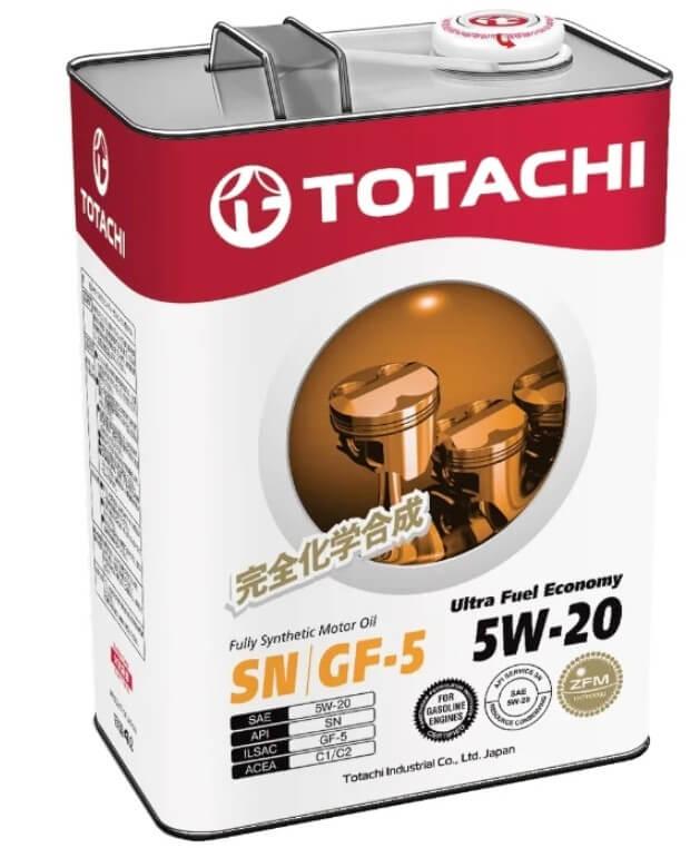 масло TOTACHI Ultra Fuel Economy 5W-20 4 л