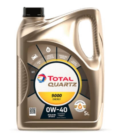 масло TOTAL Quartz 9000 Energy 0W-40 5 л