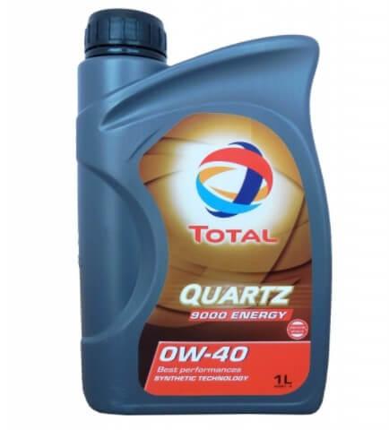 масло TOTAL Quartz 9000 Energy 0W40 1 л