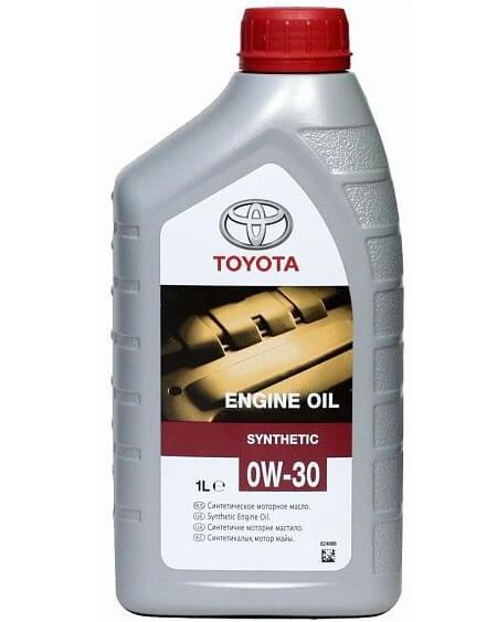 масло TOYOTA Motor Oil 0W-30 EU, 1 л