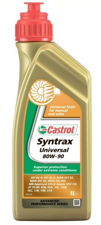 масло Castrol Syntrax Universal 80W-90, 1 л