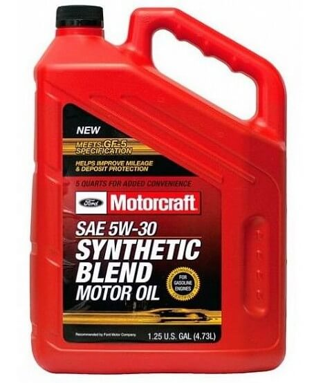 Масло Ford Motorcraft Syntetic Blend 5W30 4,73 л