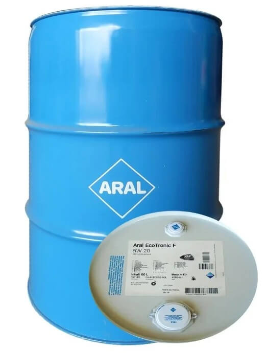 масло ARAL EcoTronic F SAE 5W-20 60 л