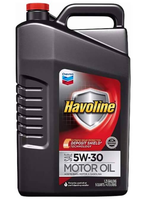 масло Chevron Havoline 5W-30 4,73 л