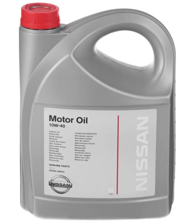 масло NISSAN 10W-40 Полусинтетическое 5 л
