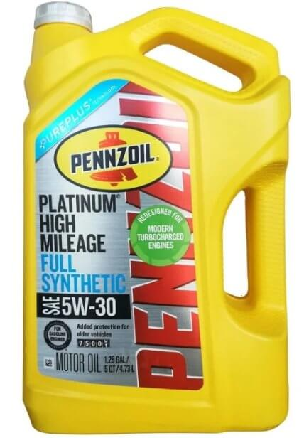 масло Pennzoil Platinum Full Synthetic 5W-30 4,73 л