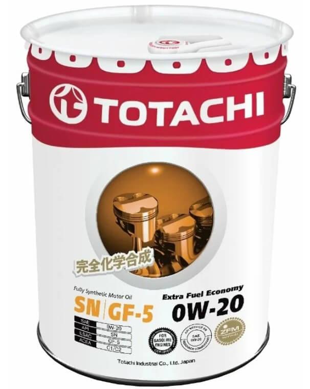 масло TOTACHI Extra Fuel Economy 0W-20 20 л