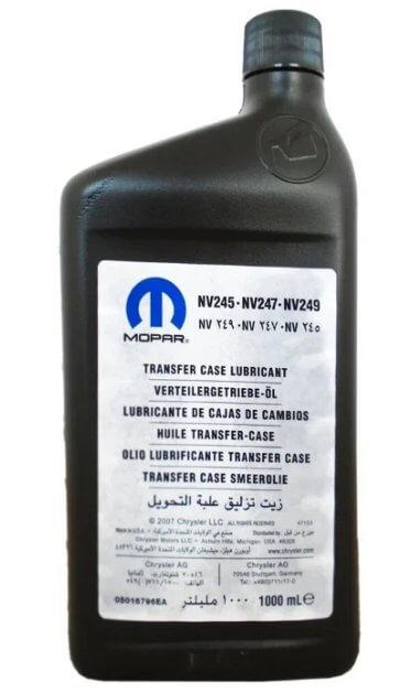 масло Mopar TRANSFER CASE LUBRICANT NV 245/NV 247/NV 249