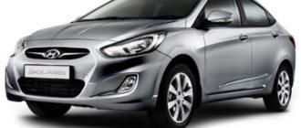 Автомобиль Hyundai Solaris — входит в список «хорошие машины с двигателем 1,4»