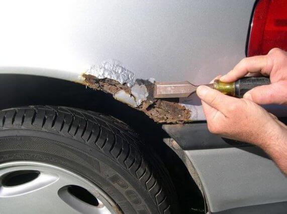 Как бороться с ржавчиной и царапинами на кузове машины?