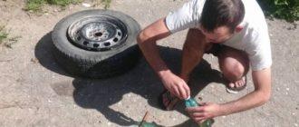Как накачать колеса без насоса