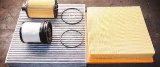 Как заменить масляный, топливный, воздушный и салонный фильтр в авто?