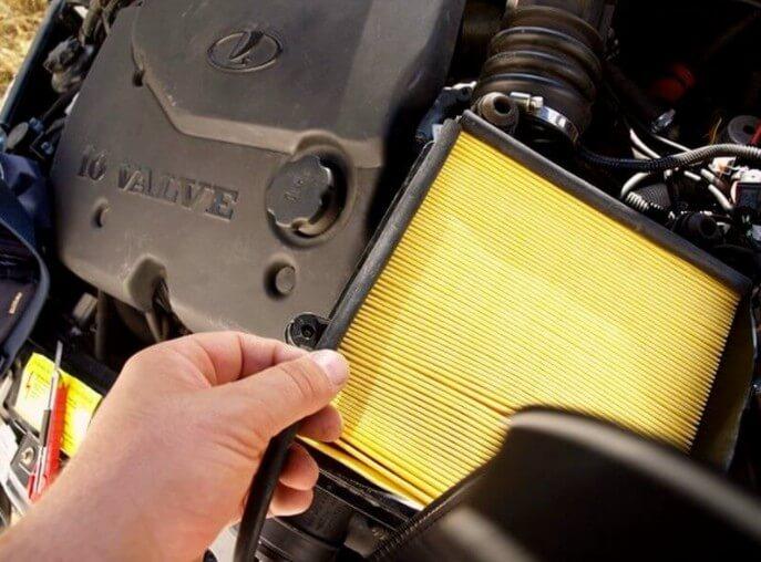 Как заменить воздушный фильтр и как часто нужно это делать