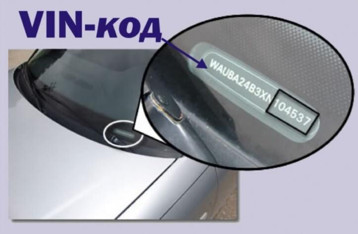 VIN-код для автомобиля, как расшифровать