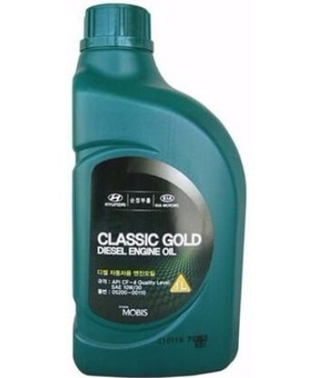 Масло HYUNDAI/KIA Classic Gold Diesel Engine Oil 10W-30 CF-4, 1 л