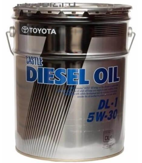 масло TOYOTA Castle Diesel Oil DL-1 SAE 5W-30, 20 л