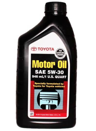 масло TOYOTA Motor Oil SM-SN SAE 5W-30, 0,946 л