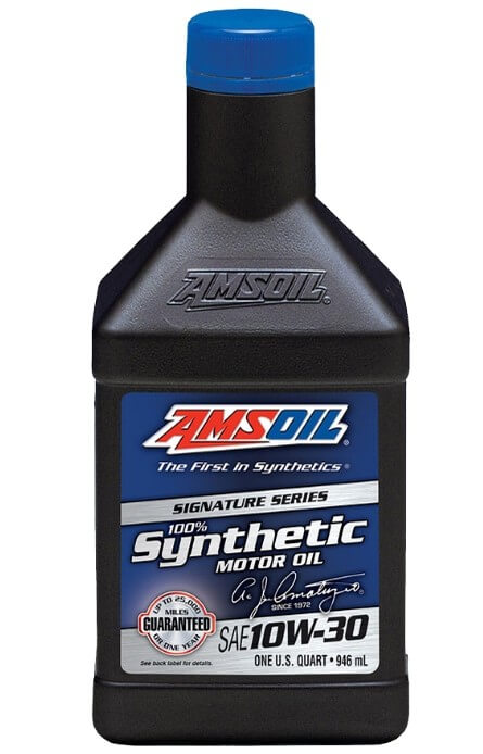 Моторное масло AMSOIL Signature Series Synthetic Motor Oil 10W-30, 946 мл