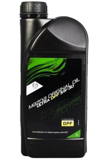 моторное масло Mazda Original Oil Ultra DPF 5W-30 1 л