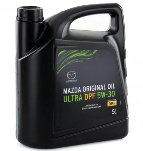 моторное масло Mazda Original Oil Ultra DPF 5W-30 5 л