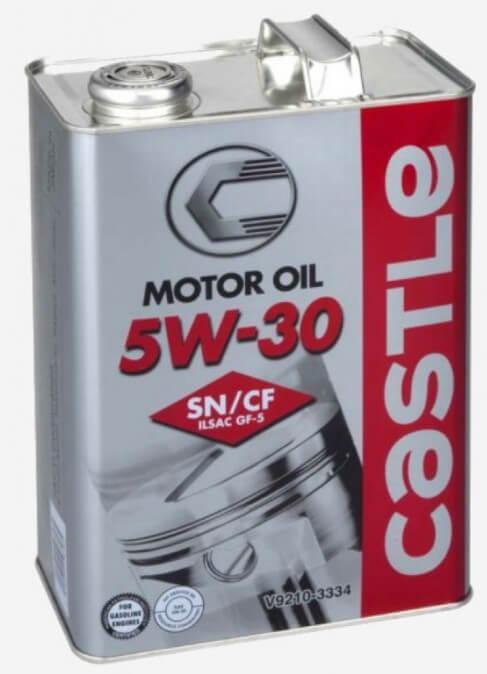 Toyota Castle Motor Oil 5W-30 SN-CF 4 л