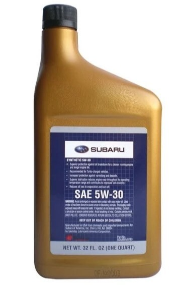 моторное масло SUBARU SN 5W-30, 0.946 л